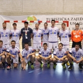 Lovcen champion, CO Zagreb and Vardar domestic Cup winners