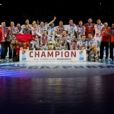 Final 4  MKB MVM Veszprem third SEHA Gazprom League's champion, MVP Chema
