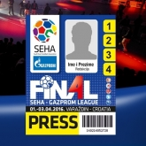 Media accreditation closed on Friday, 31st of March