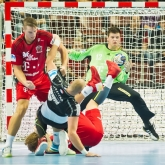 Mikler and Borbely combine for 13 saves as Telekom Veszprem edge NEXE