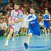 Telekom Veszprem celebrate first win in 2017