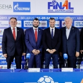 """Impressive improvement in all departments"" – closing SEHA – Gazprom League press conference in Brest"