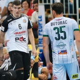 Who will be the top scorer, Jaganjac or Butorac?