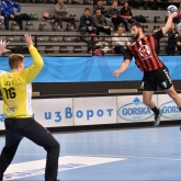 Popovski scores 10, Gjorgjeski shines with 18 saves as Vardar cruise past Vojvodina