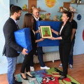 SEHA – Gazprom League supports children's home in Skopje