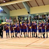 CSA Steaua Bucuresti- representing Romanian handball in their first season