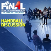 Handball discussion as an overture for the Final 4 spectacle
