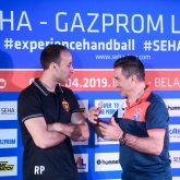 "Parrondo: ""Really, really hard match here in this great atmosphere in Brest"""