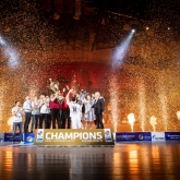 Spectacular finish of the eighth SEHA season and third trophy in a row for Vardar!