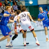 Tradition is on Telekom Veszprem's side: Hungarian champions win SEHA derby against Meshkov Brest