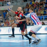 Vardar hosting Motor in a Group A derby